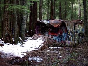 Tren Wreck, Whistler